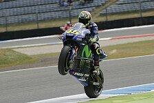 Rossi reibt sich die Hände: Grid im nassen Assen-Qualifying gut durchgemischt