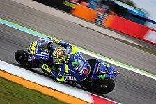 Sieger Valentino Rossi: Wieder Ärger mit Zarco