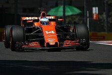 Neuer McLaren-Tiefpunkt in Baku: Alonso erstmal 2017 nach Q1 draußen