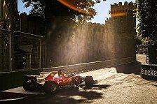 Formel 1 2018: Kein Hypersoft-Reifen in Aserbaidschan