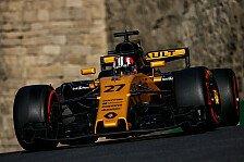 Fahrerfehler: Hülkenberg wirft Top-Ergebnis in Baku weg