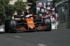 Endlich WM-Punkte: McLaren-Pilot Fernando Alonso trauert Baku-Sieg nach