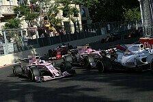 Force India: Ocon hatte Baku-Unfall in der Hand