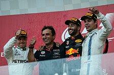 Formel 1 - Bilder: Aserbaidschan GP - Podium