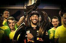 Lucky RB13: Ricciardo staubt nach Hamilton-Vettel-Clash in Baku ab und siegt