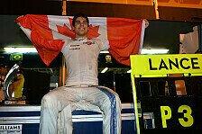 Irres Krimi-Finish in Baku: Williams-Rookie Lance Stroll gelingt Podest-Wunder