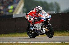 MotoGP-FP1: Dovizioso an der Spitze, Rossi mit technischen Problemen