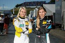 Die schnellen Damen der ADAC TCR Germany: Gosia Rdest und Jasmin Preisig
