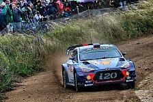 Rallye Polen: Hyundai-Pilot Thierry Neuville siegt nach Baum-Crash von Ott Tänak