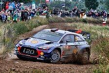 Thriller bei Rallye Polen: Hyundai-Pilot Thierry Neuville behauptet Führung