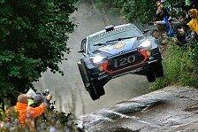 Hyundai-Pilot Neuville führt die Rallye Polen an