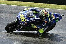Valentino Rossi erhält am Sachsenring Prügel: Defekt, kein Feeling, P16