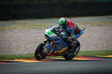 Morbidelli siegt beim Deutschland GP, Lüthi und Marquez crashen