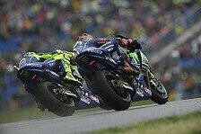 Rossi und Vinales identifizieren die Yamaha-Achillesferse im Nassen