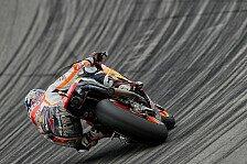 Reifen-Trouble verhindert Sieg-Kampf bei der MotoGP am Sachsenring mit Pedrosa