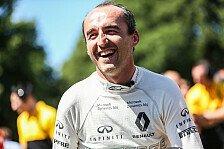 Neuer Test für Robert Kubica: Jetzt will Renault die Comeback-Chance ausloten