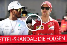 Nach Baku-Rammstoß: Sebastian Vettel und Lewis Hamilton versöhnt