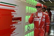 Offiziell: Ferrari verlängert mit Kimi Räikkönen für Formel-1-Saison 2018