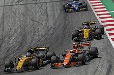 Formel 1, Renault: Red Bull und McLaren 2018 als Gradmesser