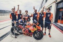 Oliveira testet in Aragon erstmals MotoGP-Bike