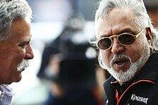 Formel 1: Vijay Mallya nicht mehr Force India Boss