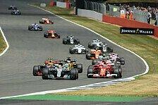Formel 1, Silverstone-Reifen: Teams meiden Hard wie den Teufel