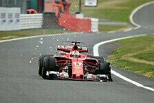 Pirelli klärt Vettels Reifenschaden beim Großbritannien GP auf