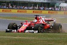 Krasse WM-Pleite für Sebastian Vettel: Ferrari-Horror in Silverstone