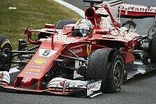 Formel 1 - Bilderserie: Großbritannien GP - Presse: Ferrari ist explodiert