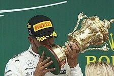 Lewis Hamilton regiert in Silverstone: Rennstatistiken und Top-Facts 2017