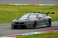 BMW M8 GTE absolviert ersten Test am Lausitzring