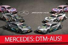 Mercedes steigt Ende 2018 aus der DTM aus
