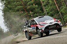 Rallye Finnland: Lappi führt Finnen-Trio vor Latvala und Suninen an