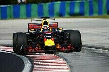 1. Training in Ungarn: Ricciardo mit Überraschungs-Bestzeit