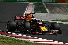 2. Training in Ungarn: Daniel Ricciardo wieder vorne, Pascal Wehrlein crasht
