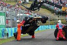 Crash-Pilot Palmer: Auf Zerstörer-Tour in Ungarn