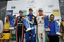 Formel 3 EM - Bilder: Spa-Francorchamps - 16. - 18. Lauf