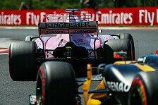Perez: Schaue mir Renault und Hülkenberg genau an