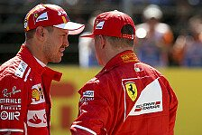 Formel 1 2018: Räikkönen wieder fit, Vettel hat Feierabend