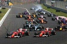 Formel-1-Starts 2018 um 15:10 Uhr: Für Mercedes-Chef ein Fehler
