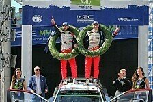 Sensationssieg für Toyota-Pilot Esapekka Lappi bei der Rallye Finnland