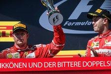 Räikkönen in Ungarn erneut nur Ferraris Mittel zum Zweck: So reagiert Kimi