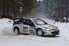 WRC - OMV Kronos Citroen in Schweden erfolgreich