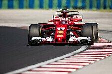 Ferrari-Junior fährt Bestzeit bei 1. Ungarn-Test