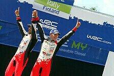 WRC - Bilder: Rallye Finnland - Tag 1 - 3 & Podium