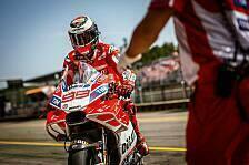 Ducati testet in Brünn nächste radikale Verkleidung