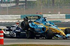 Formel 1 - Stewards verwarnen Fisichella