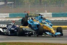 Formel 1 - Fisichella-Webber Crash: Keiner fühlt sich schuldig