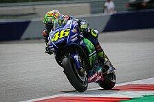 MotoGP in Österreich: Valentino Rossi hadert nach Qualifying mit den Reifen