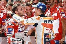Überraschung für Dovizioso: Marquez gratuliert per Video